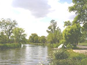 River Gein recreational area