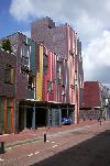 Eastern Docklands Amsterdam - houses on Borneo island