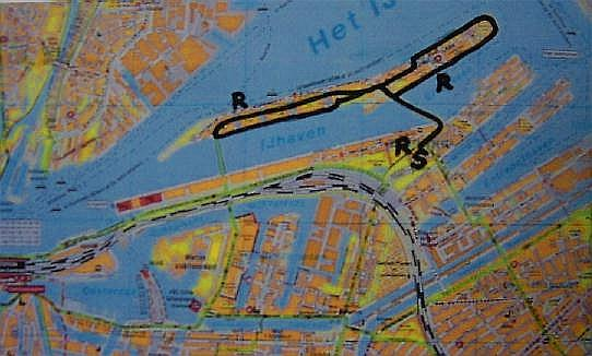 Eastern Docklands Amsterdam - walk around KNSM and Java islands